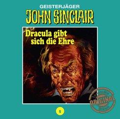 Geisterjäger John Sinclair, Tonstudio Braun - Dracula gibt sich die Ehre. Teil 2 von 3, 1 Audio-CD