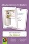 Deutschlernen mit Bildern: Zu Hause, Fotokarten