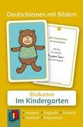 Deutschlernen mit Bildern: Im Kindergarten, Fotokarten