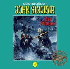 Geisterjäger John Sinclair, Tonstudio Braun - Der Pfähler. Teil 1 von 3, 1 Audio-CD