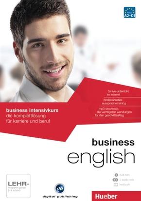 business intensivkurs english, 1 DVD-ROM + 2 Audio-CDs + 1 Textbuch