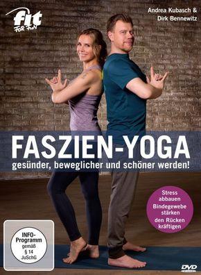 Faszien-Yoga - gesünder, beweglicher und schöner werden!, 1 DVD