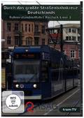 Durch das größte Straßenbahnkreuz Deutschlands - Führerstandmitfahrt Rostock - Linie 3 der RSAG, 1 DVD