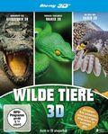 Wilde Tiere 3D, 3 Blu-ray