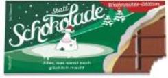Statt Schokolade, Weihnachts-Edition