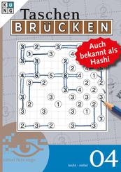 Brücken-Rätselbuch, Auch bekannt als Hashi - Bd.4