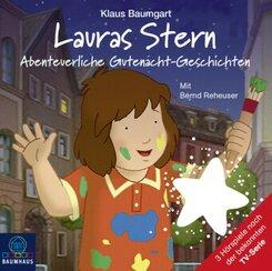 Lauras Stern - Abenteuerliche Gutenacht-Geschichten, Audio-CD - Tl.11