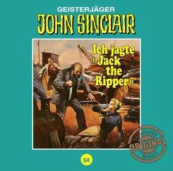 "John Sinclair Tonstudio Braun - Ich jagte ""Jack the Ripper"", 1 Audio-CD"