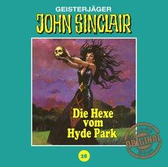 John Sinclair Tonstudio Braun - Die Hexe vom Hyde Park, 1 Audio-CD