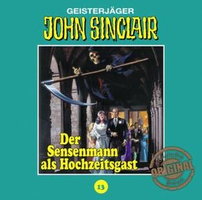 John Sinclair Tonstudio Braun - Der Sensenmann als Hochzeitsgast, 1 Audio-CD
