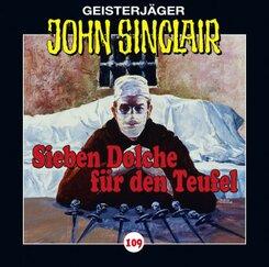 Geisterjäger John Sinclair - Sieben Dolche für den Teufel, Audio-CD