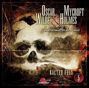 Oscar Wilde & Mycroft Holmes - Kalter Fels. Sonderermittler der Krone, 1 Audio-CD