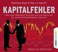 Kapitalfehler, 6 Audio-CD