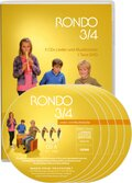 Rondo, Musiklehrgang für die Grundschule, Neubearbeitung: 3./4. Schuljahr, 5 Audio-CDs und 1 Tanz-DVD
