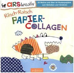 Ritsch-Ratsch Papiercollagen