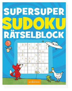 Super-Sudoku-Rätselblock