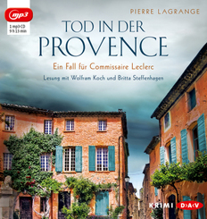 Tod in der Provence, 1 Audio-CD, 1 MP3