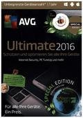 AVG Ultimate 2016, 3 DVD-ROM (Special Edition)