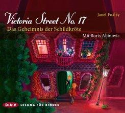 Victoria Street No. 17 - Das Geheimnis der Schildkröte, 3 Audio-CDs