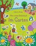 Mein erstes Stickerbuch: Im Garten