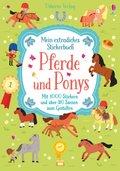 Mein extradickes Stickerbuch: Pferde und Ponys