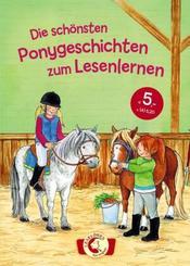 Die schönsten Ponygeschichten zum Lesenlernen