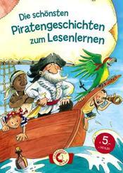 Die schönsten Piratengeschichten zum Lesenlernen
