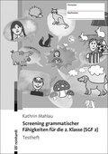 Screening grammatischer Fähigkeiten für die 2. Klasse (SGF 2) - Testheft, 10 Expl. (10 Exemplare)