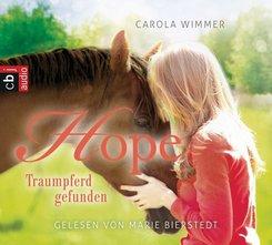 Hope - Traumpferd gefunden, 3 Audio-CDs