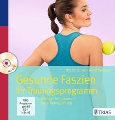 Gesunde Faszien. Ihr Trainingsprogramm, m. DVD