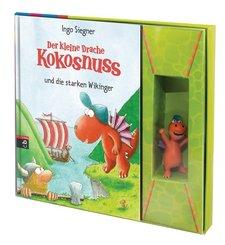 Der kleine Drache Kokosnuss und die starken Wikinger, m. 3D-Figur 'Kokosnuss'