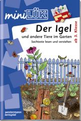 miniLÜK: Der Igel und andere Tiere im Garten