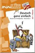 miniLÜK: Deutsch ganz einfach - Tl.1