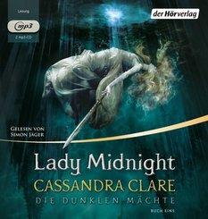 Die dunklen Mächte - Lady Midnight, 2 MP3-CDs