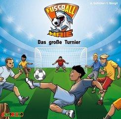 Fußball-Haie - Das große Turnier, Audio-CD