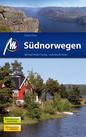Südnorwegen, inklusive Karte 1:1.000.000