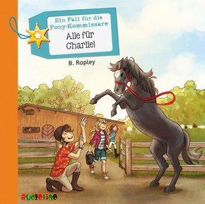 Ein Fall für die Pony-Kommissare - Alle für Charlie!, 2 Audio-CDs