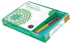 Kreativ meditativ Box Harmonie, m. 8 Buntstiften u. 1 Spitzer