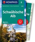 KOMPASS Wanderführer Schwäbische Alb, m. 1 Karte