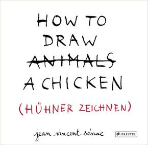 HOW TO DRAW A CHICKEN (HÜHNER ZEICHNEN)