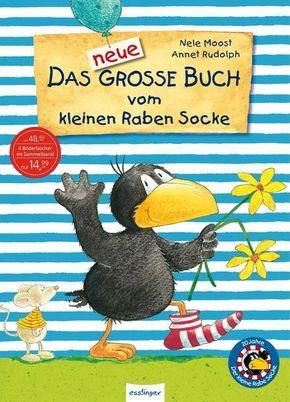 Das neue große Buch vom kleinen Raben Socke (4 Bücher in einem)