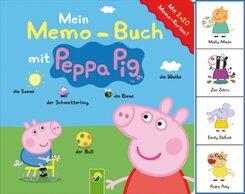 Mein Memo-Buch mit Peppa Pig - Mit 2 x 20 Memo-Karten