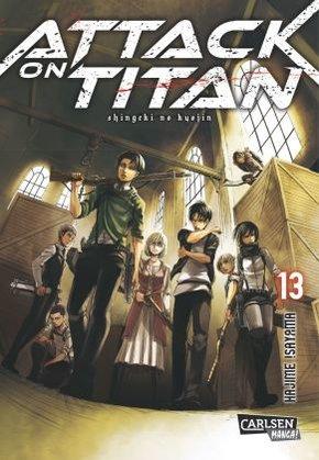 Attack on Titan - Bd.13