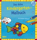 Das dicke Kindergarten-Malbuch - Bd.2