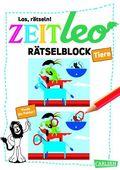 """ZEIT LEO Rätselblock """"Tiere"""""""
