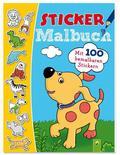 Sticker Malbuch (blau)