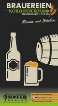 Höfer Straßenkarte Brauereien Tschechische Republik