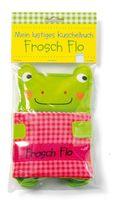 Mein lustiges Kuschelbuch. Frosch Flo, Stoffbilderbuch