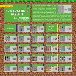Let's Play MINECRAFT: 178 Crafting-Rezepte, Übersichtskarte
