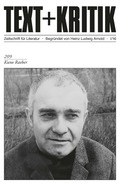 Text + Kritik: Kuno Raeber; H.209